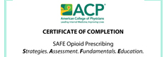 Safe Opioid Prescribing: Strategies. Assessment. Fundamentals. Education.