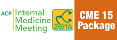Internal Medicine Meeting 2016 CME 15 Package